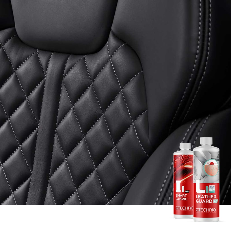 Leather or Fabric Seats (Including Alcantara)